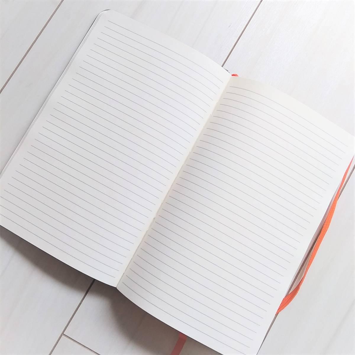 新品★モレスキンノートを含む A5 バンド付きノート3冊&ペン1本セット_画像4