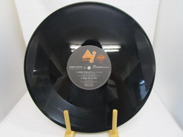 [190618177] ネバー・ギブ・アップ 歌:フリッズル・シッズル キャニオンレコード C12Y0270 12インチ・シングル LPレコード 【中古】 _画像4