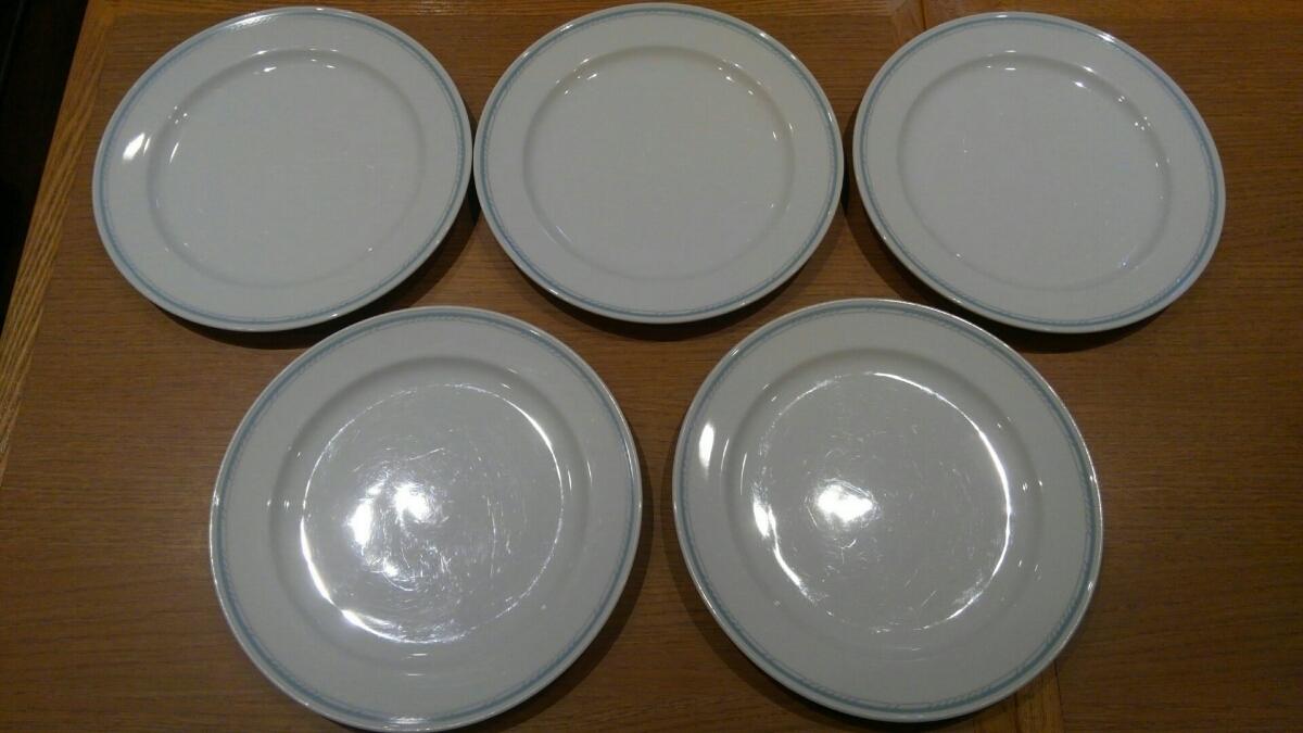 Noritake パスタ皿 お皿 5枚セット 24㎝ ノリタケ_画像1