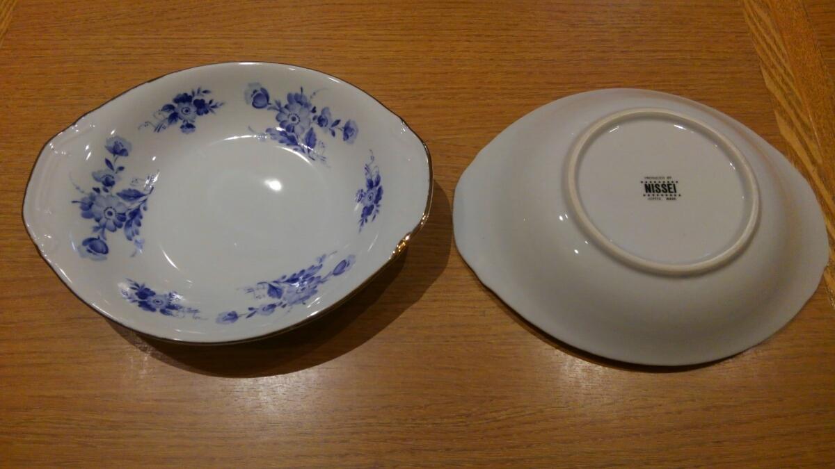 《中古》カレー皿 お皿 3枚セット 23×19㎝_画像2