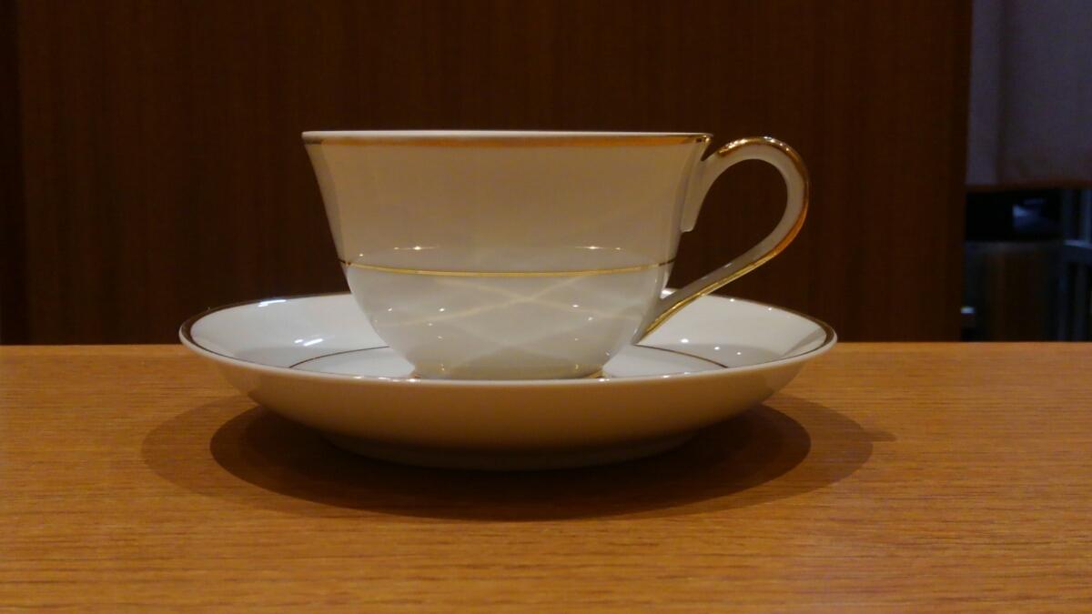 《中古》KEINAN コーヒーカップ 4客セット 9㎝_画像3
