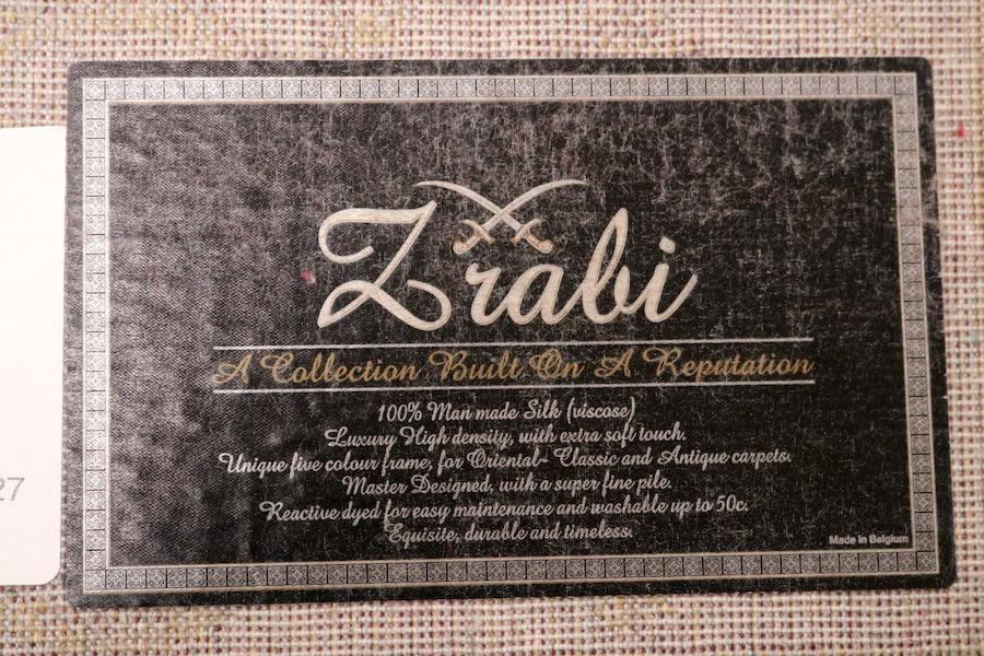 ペルシャ柄絨毯 160×230 新品未使用 カーペット 訳あり アウトレット ネイビー_画像7