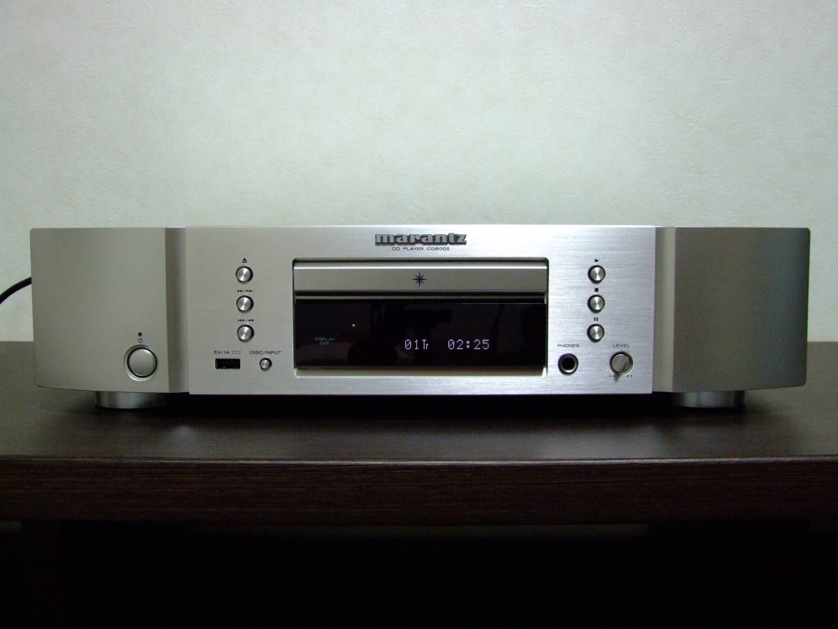 【アナログレコード音質】marantz CDプレーヤー CD6006 高音質化改良品 syno tune Extra Tune STUDER,LINN,SA-7S1でもご不満の方に値交渉有_画像1