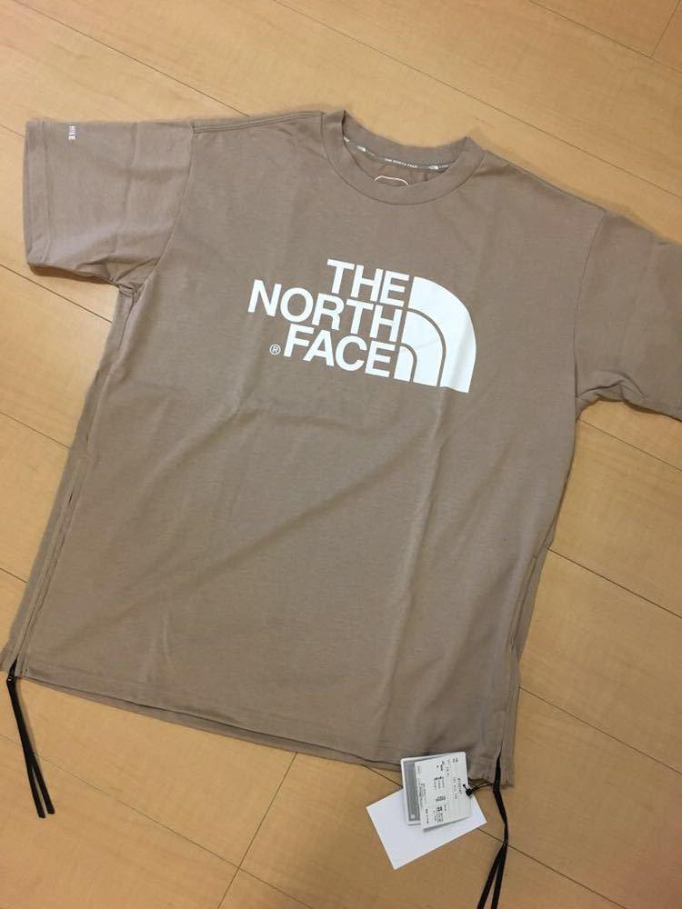 未使用 19ss HYKE THE NORTH FACE ハイク ノースフェイス TEC BIG TEE TAN メンズ L