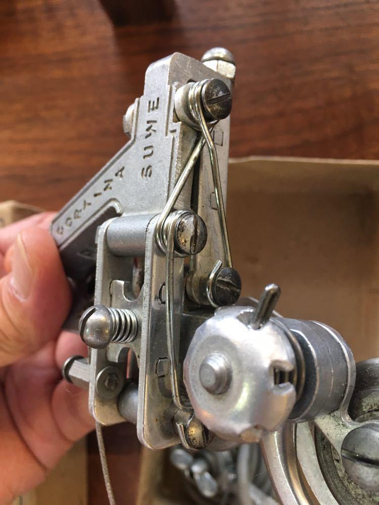 希少 オーストリア SUWE チェーンステー用ディレイラー_画像10