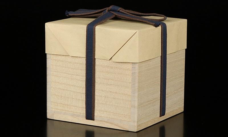 【河井寛次郎】最上位作 白地筒描花文碗 民藝巨匠 識箱 保証_画像10