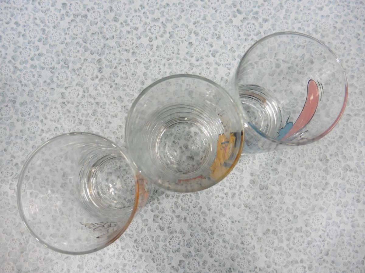 昭和レトロ キリンレモン ディズニーグラス ダンボ・プルート・バンビ 3種類 長期保管品 S60_画像4