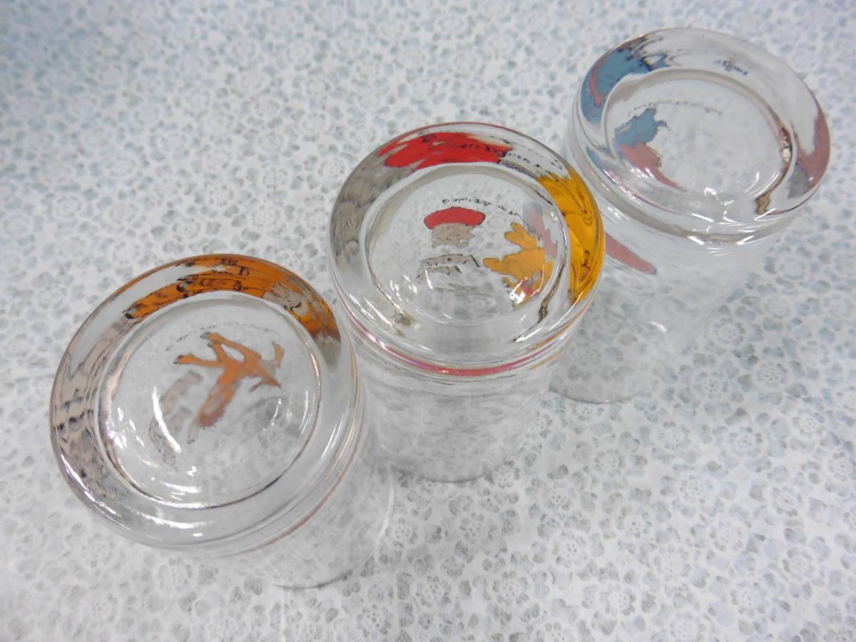 昭和レトロ キリンレモン ディズニーグラス ダンボ・プルート・バンビ 3種類 長期保管品 S60_画像5