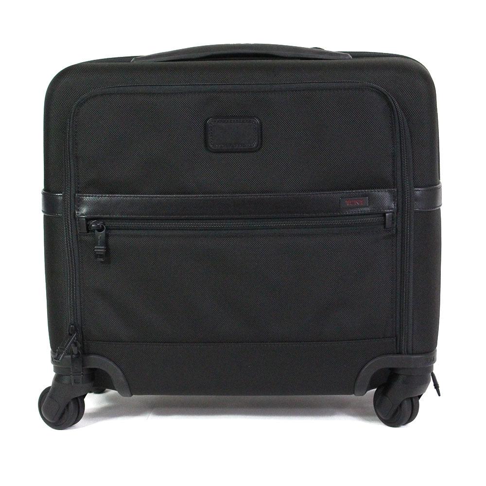 【2673】TUMI トゥミ キャリーケース キャリーバッグ トランクケース 黒 26624 D2 バリスティックナイロン ビジネスバッグ メンズ