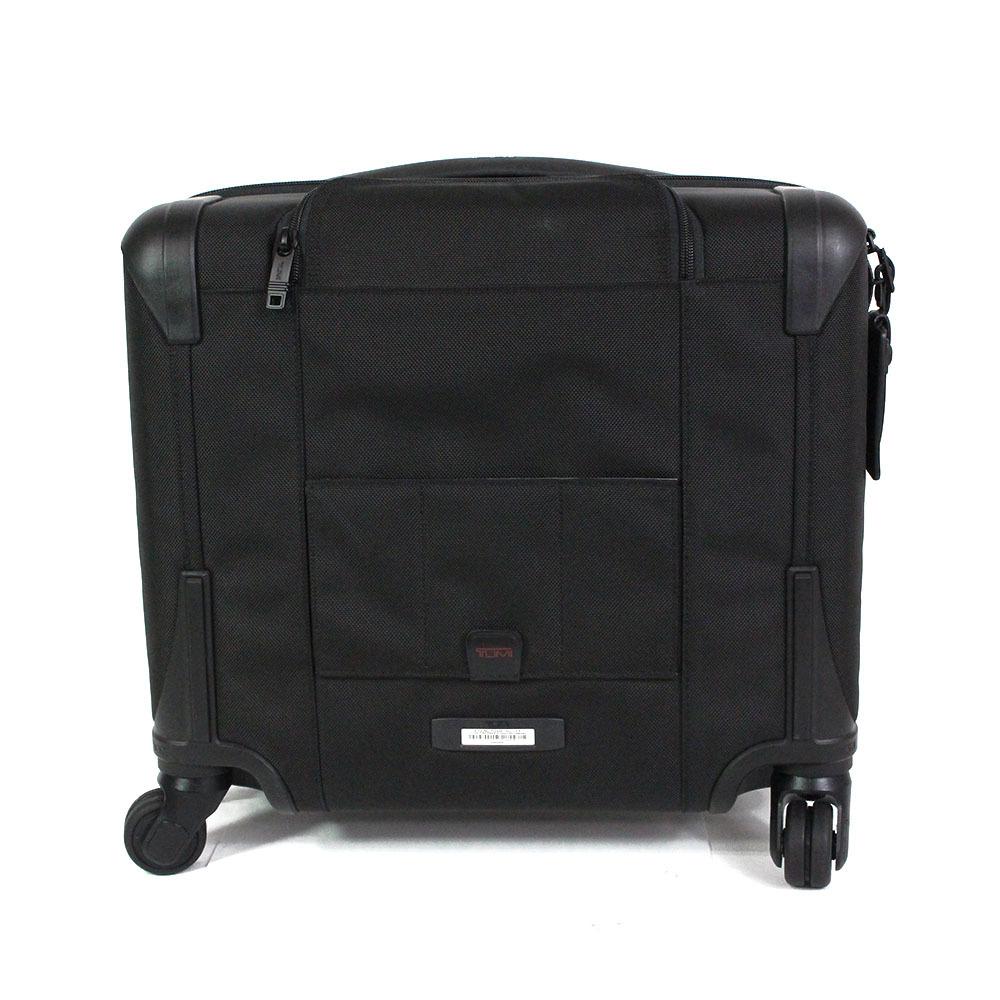 【2673】TUMI トゥミ キャリーケース キャリーバッグ トランクケース 黒 26624 D2 バリスティックナイロン ビジネスバッグ メンズ_画像4