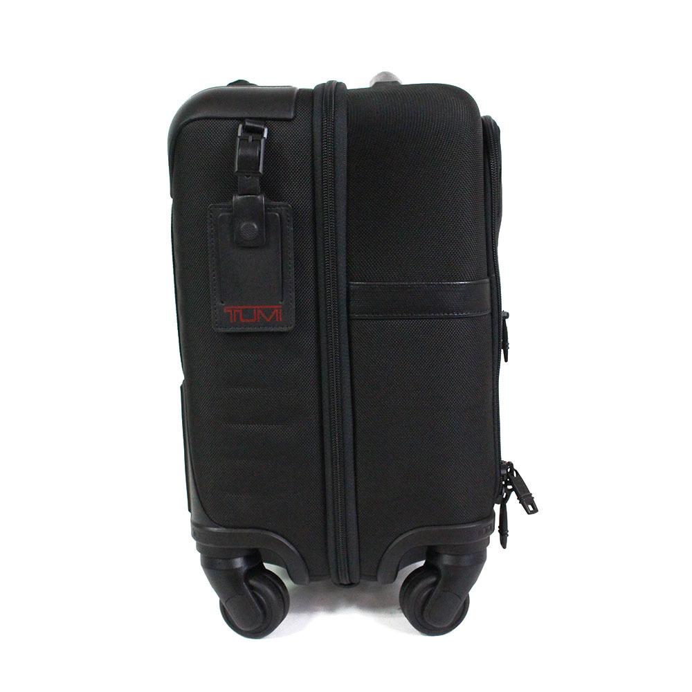 【2673】TUMI トゥミ キャリーケース キャリーバッグ トランクケース 黒 26624 D2 バリスティックナイロン ビジネスバッグ メンズ_画像2