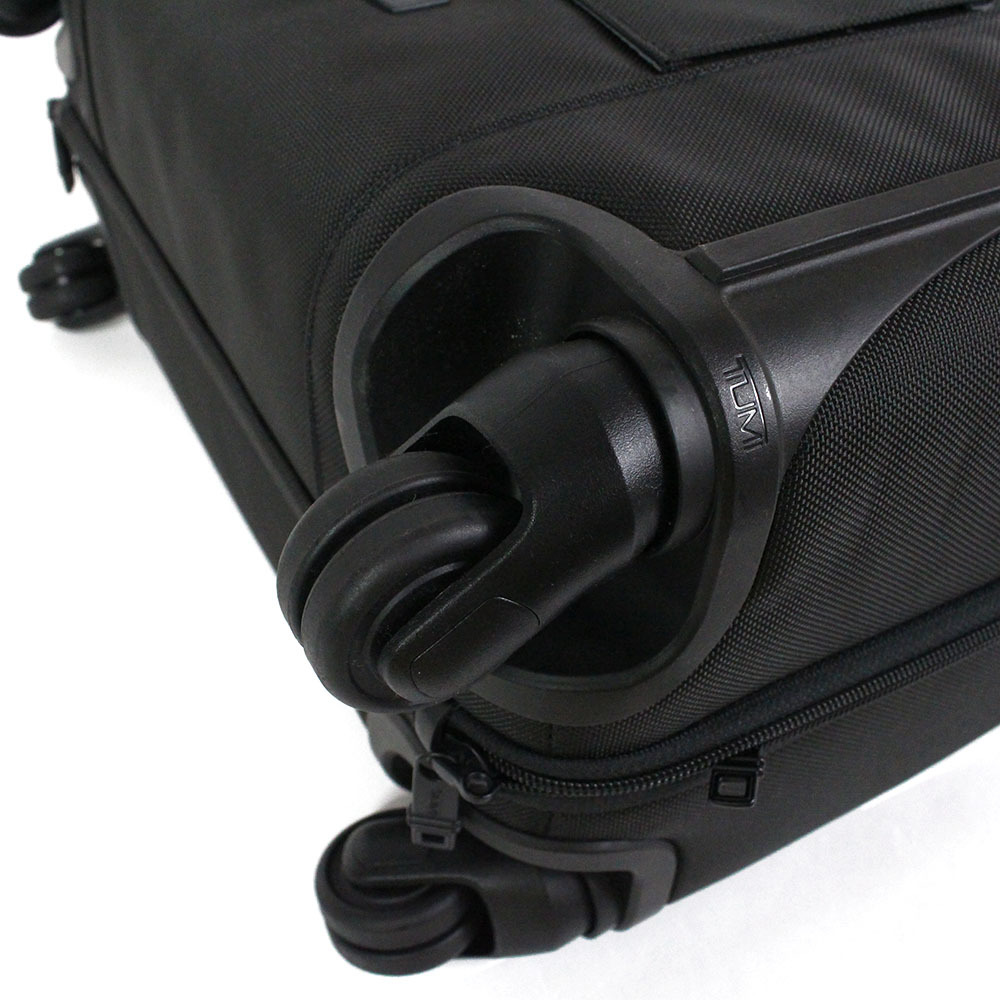 【2673】TUMI トゥミ キャリーケース キャリーバッグ トランクケース 黒 26624 D2 バリスティックナイロン ビジネスバッグ メンズ_画像7