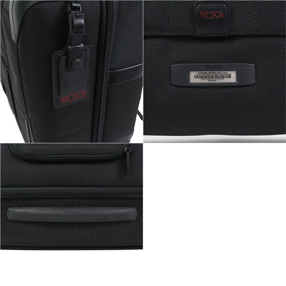 【2673】TUMI トゥミ キャリーケース キャリーバッグ トランクケース 黒 26624 D2 バリスティックナイロン ビジネスバッグ メンズ_画像8