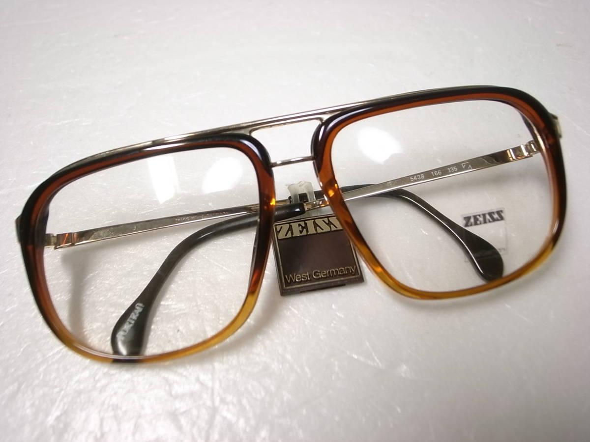 ZEISS 西ドイツ製 ビンテージ メガネフレーム ポートレート 5438 デッドストック 未使用新品 ツァイス 眼鏡 PORTRAIT Vintage W.Germany