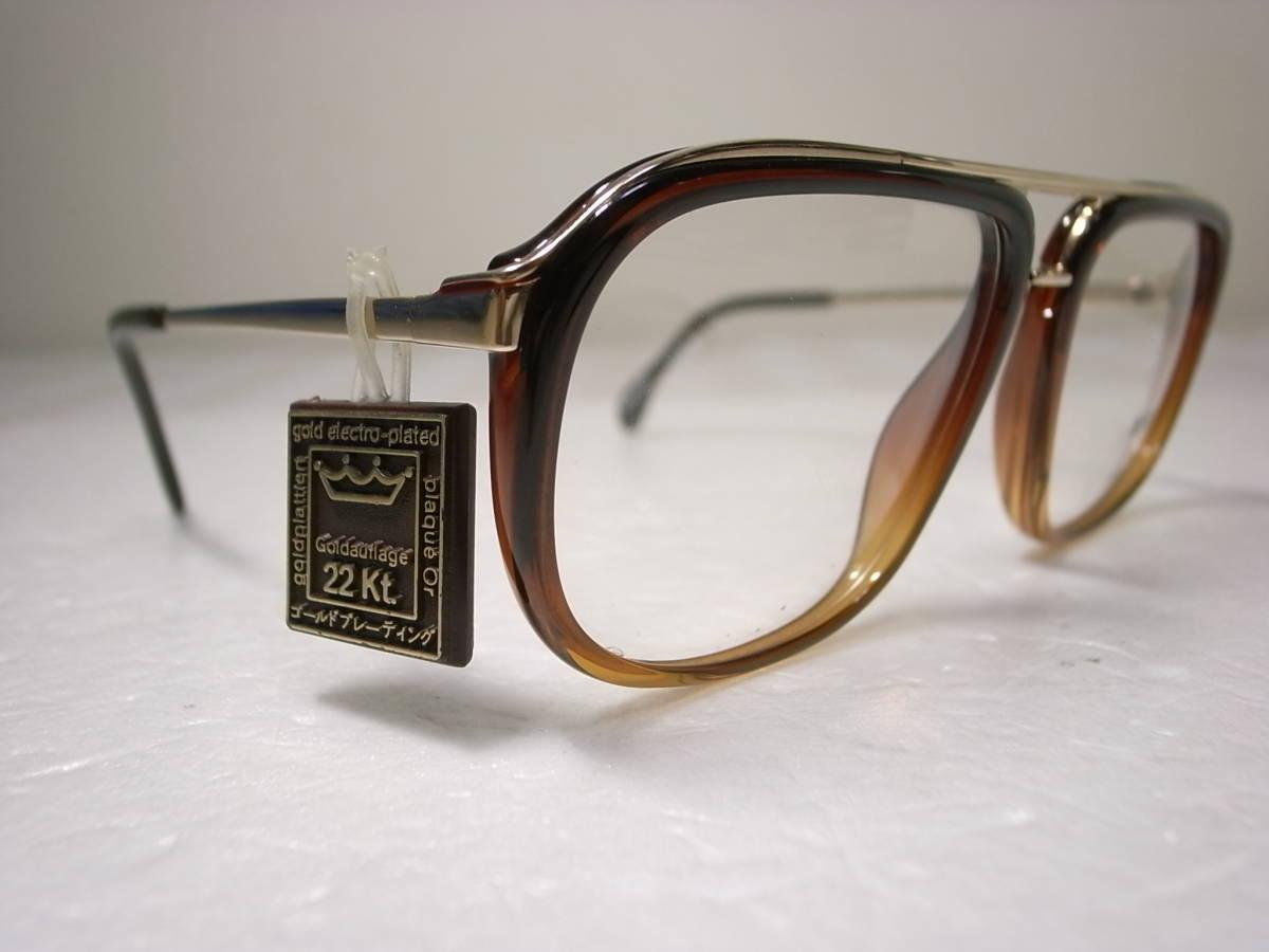ZEISS 西ドイツ製 ビンテージ メガネフレーム ポートレート 5438 デッドストック 未使用新品 ツァイス 眼鏡 PORTRAIT Vintage W.Germany_画像2