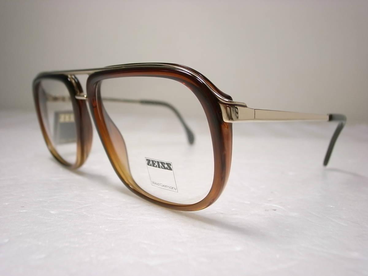 ZEISS 西ドイツ製 ビンテージ メガネフレーム ポートレート 5438 デッドストック 未使用新品 ツァイス 眼鏡 PORTRAIT Vintage W.Germany_画像3