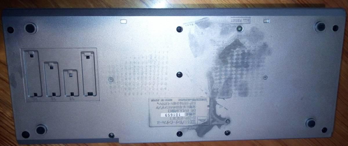 ジャンク品 東芝「IHP-500とIHC-8000とIHM-200」 PASOPIAmini TOSHIBA パソピア RAMパック 12k BYTE_画像5
