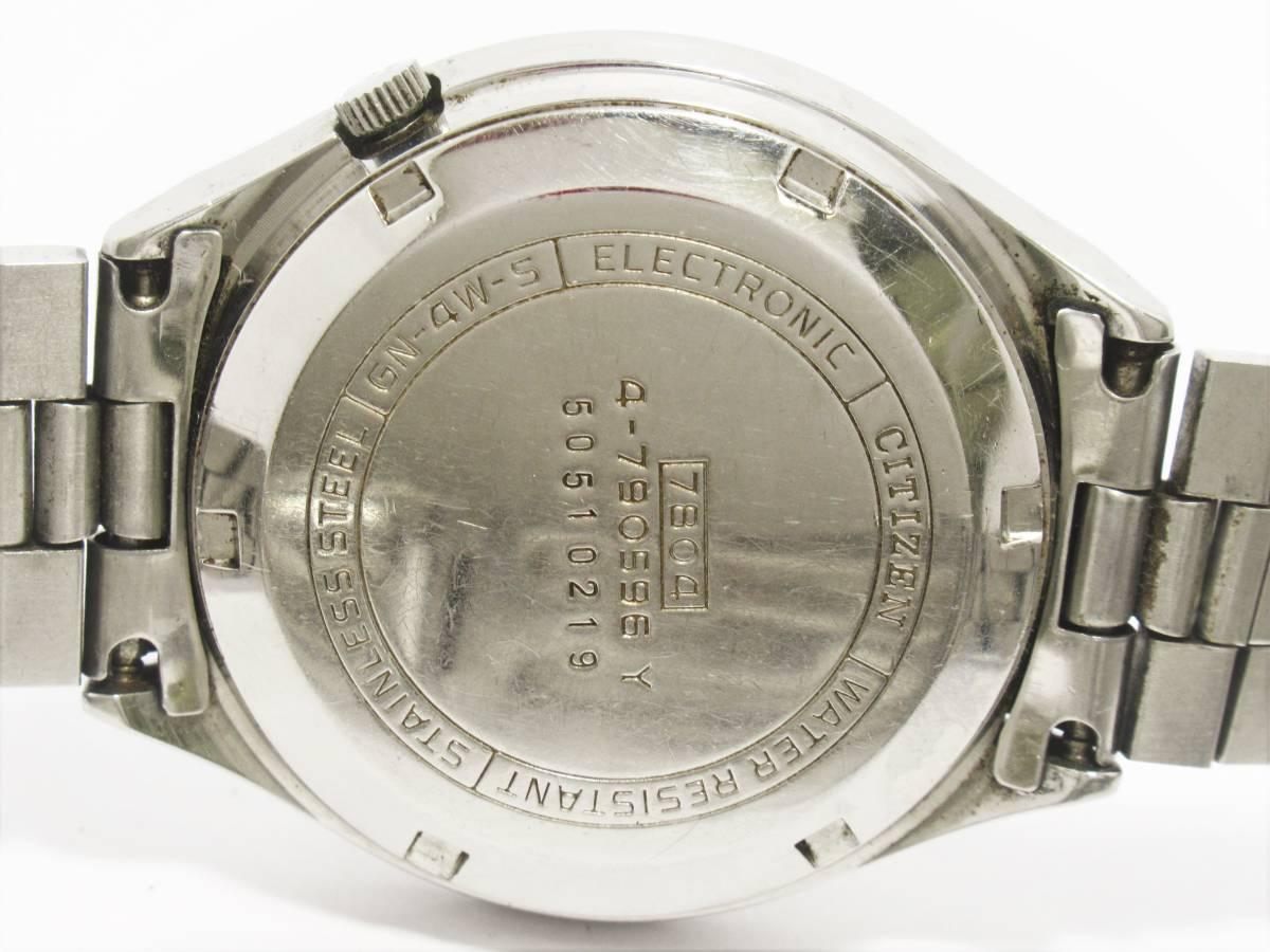 W7877 セイコー ウィークデーター シチズン コスモトロン 4-790596Y 6218-8950 2本セット メンズ 自動巻き ラウンド デイデイト 時計_画像5