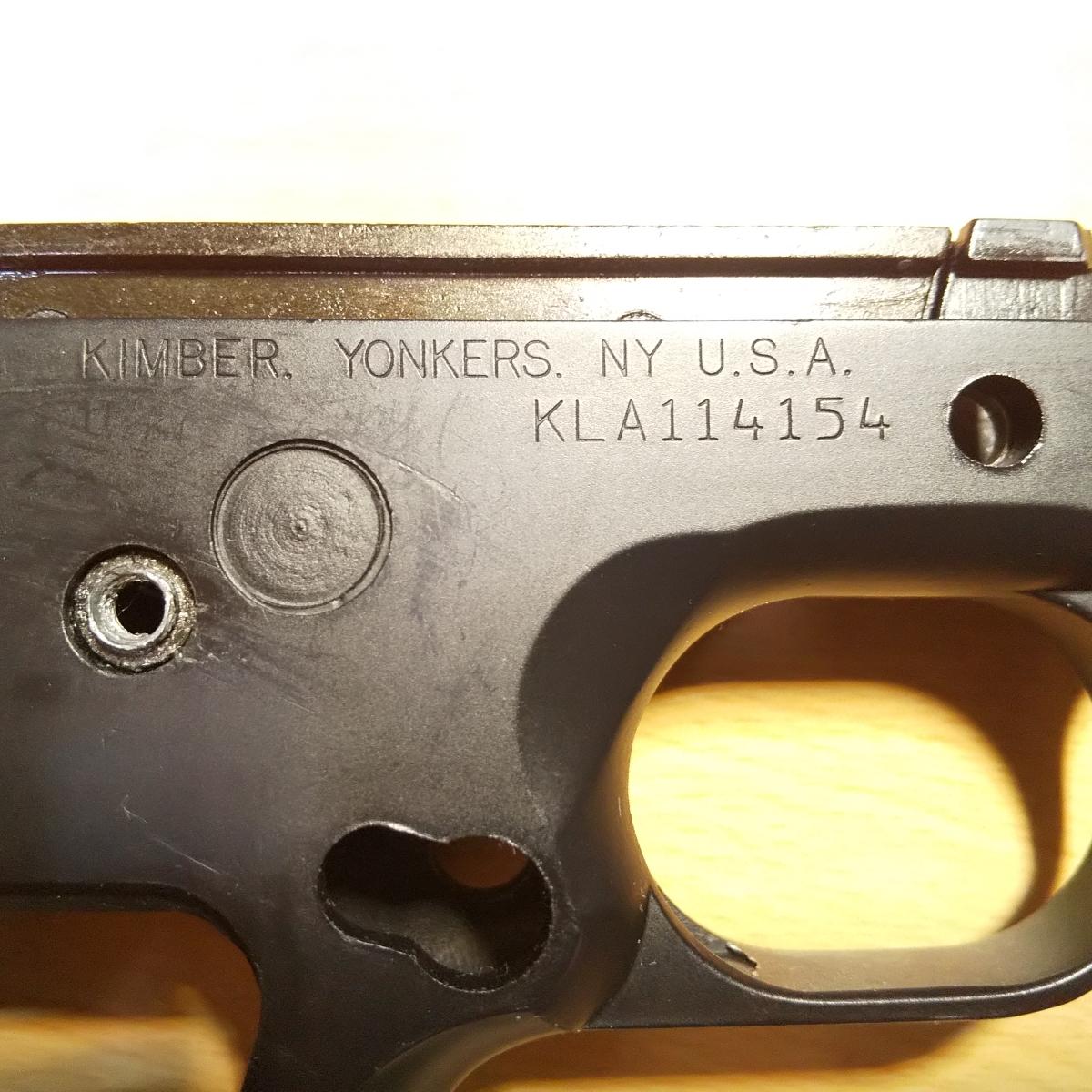 WA SCW キンバー LAPD SWAT CUSTOM II Ver.3 HW フレーム アッセンブリー 一式/1911 ガバメント MEU コルト ウイルソン Prime_画像3