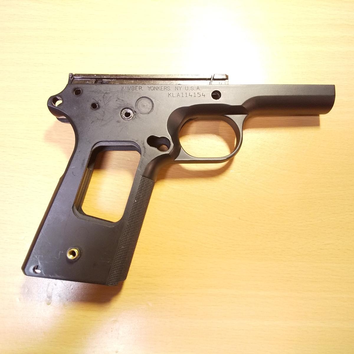 WA SCW キンバー LAPD SWAT CUSTOM II Ver.3 HW フレーム アッセンブリー 一式/1911 ガバメント MEU コルト ウイルソン Prime_画像2