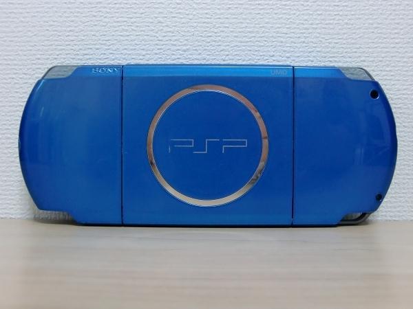 SONY PSP-3000 バイブラント・ブルー 完動品 本体のみ クリックポスト可(Z)_画像2