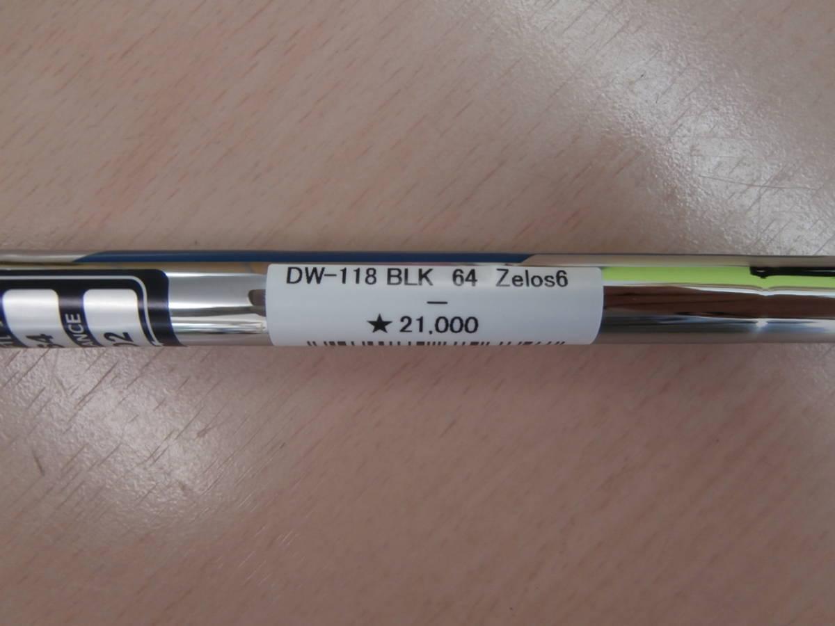 未使用品、キャスコ、ドルフィンウェッジ DW-118 ブラック、64°、N.S.PRO Zeros ゼロス 6_画像6