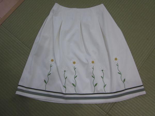 エムズグレイシー☆カタログ掲載マーガレットのスカート38☆最新カタログ付