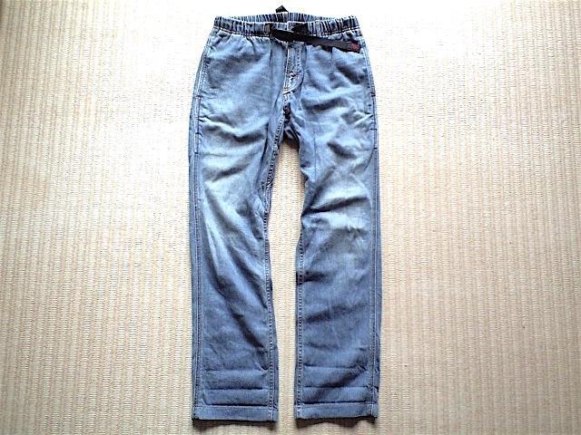 GRAMiCCi JAPAN DENIM JD パンツ サイズ M こだわりの日本製 岡山のデニムを使用 デニム グラミチ