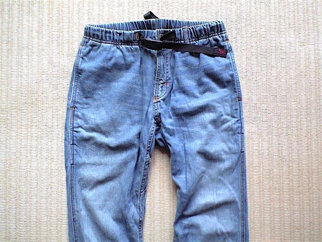 GRAMiCCi JAPAN DENIM JD パンツ サイズ M こだわりの日本製 岡山のデニムを使用 デニム グラミチ_画像2