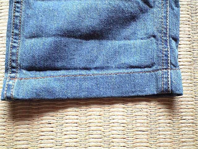 GRAMiCCi JAPAN DENIM JD パンツ サイズ M こだわりの日本製 岡山のデニムを使用 デニム グラミチ_画像8