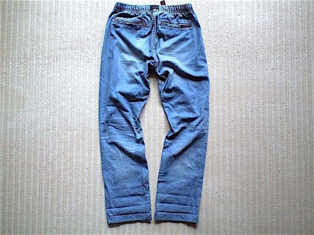 GRAMiCCi JAPAN DENIM JD パンツ サイズ M こだわりの日本製 岡山のデニムを使用 デニム グラミチ_画像6