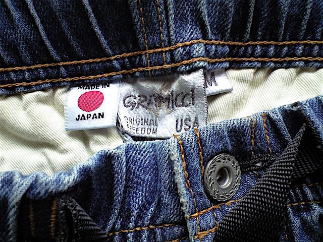 GRAMiCCi JAPAN DENIM JD パンツ サイズ M こだわりの日本製 岡山のデニムを使用 デニム グラミチ_画像3