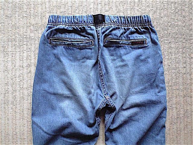 GRAMiCCi JAPAN DENIM JD パンツ サイズ M こだわりの日本製 岡山のデニムを使用 デニム グラミチ_画像5