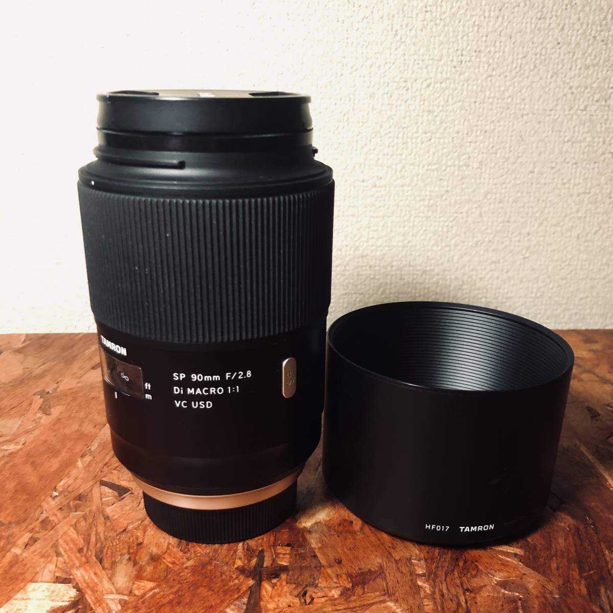 即決あり!TAMRON 単焦点マクロレンズ SP90mm F2.8 Di MACRO 1:1 VC USD ニコン用 (フィルター付き)