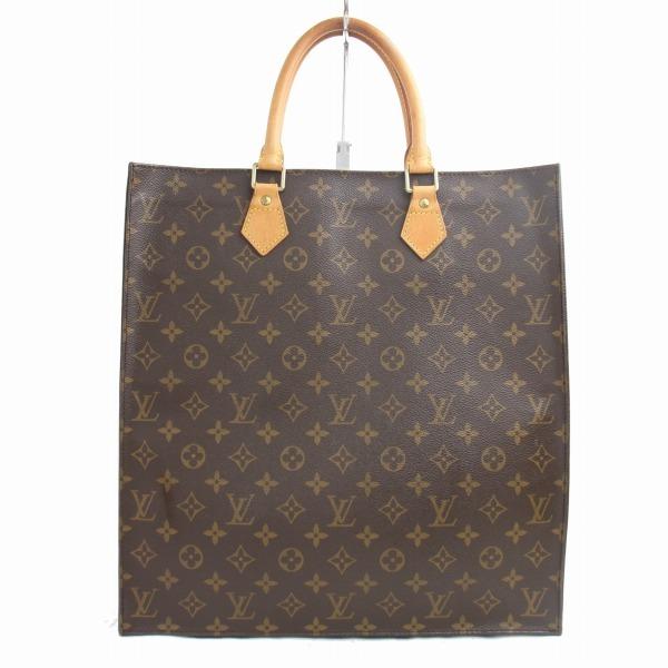 1円~ ルイヴィトン  LOUIS VUITTON モノグラム サックプラ ★ ハンドバッグ ビジネスバッグ 書類鞄 正規品 5036す