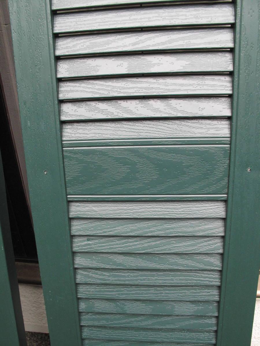 【処分品】窓飾り樹脂製ルーバーシャッター_画像3