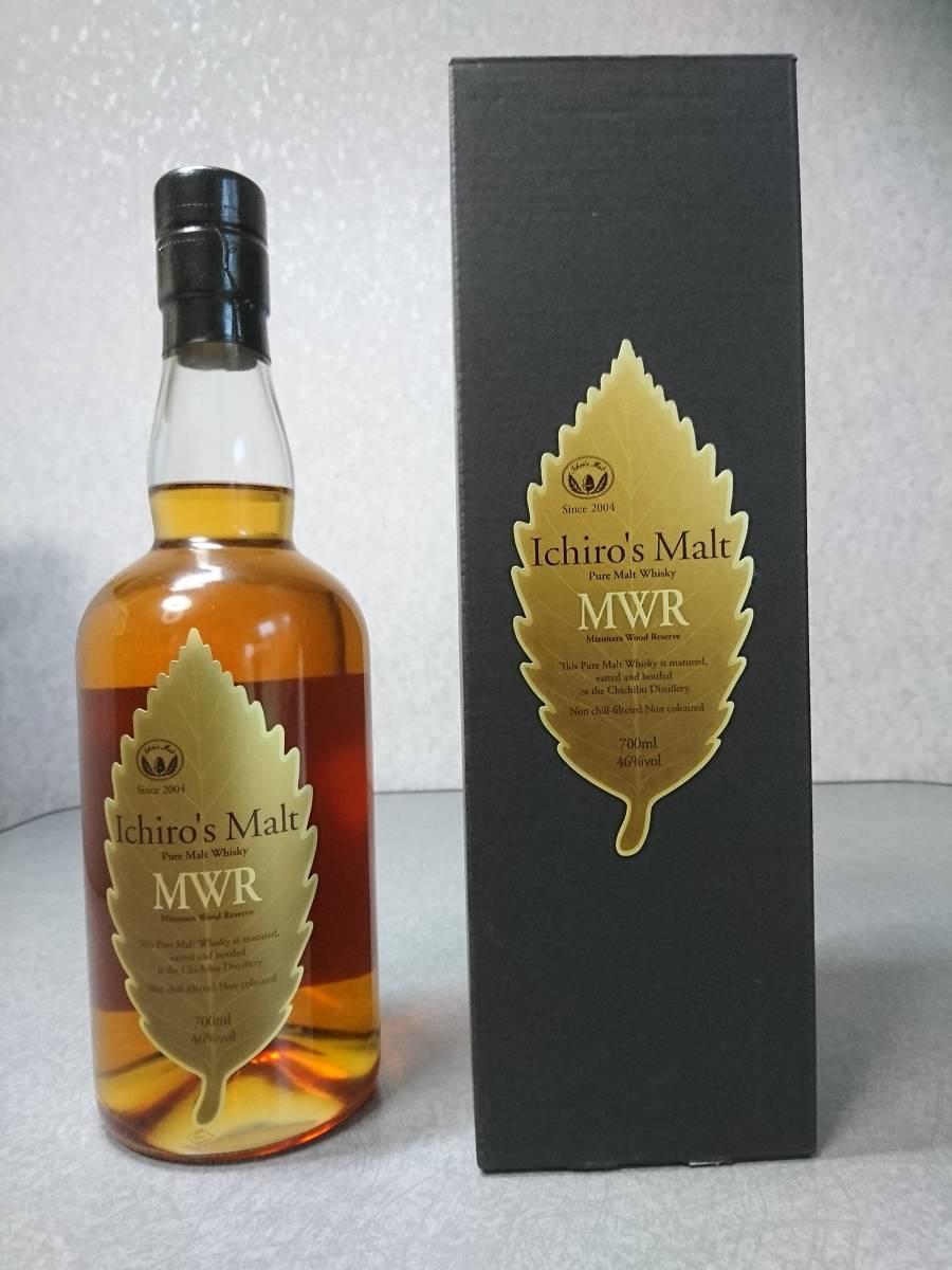 【未開栓】Ichiro's Malt イチローズモルト MWR ミズナラウッドリザーブ ウイスキー 700ml 46% 箱あり
