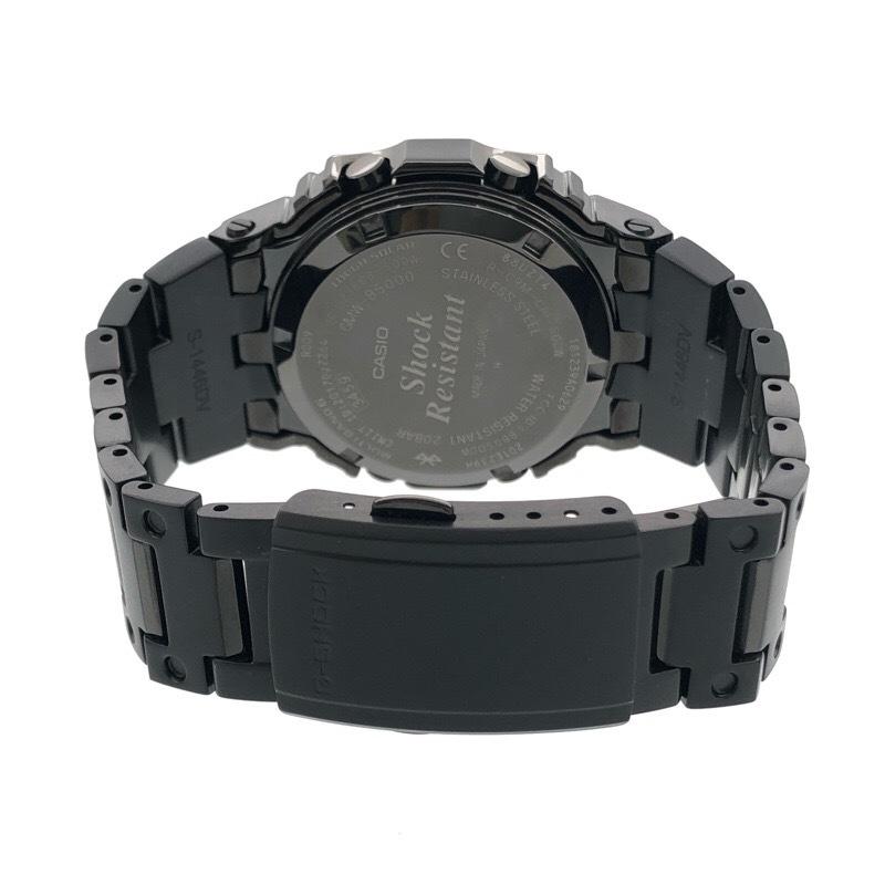 新品同様 CASIO カシオ G-SHOCK GMW-B5000GD-1JF ブラック メタル ソーラー Bluetooth 腕時計_画像4