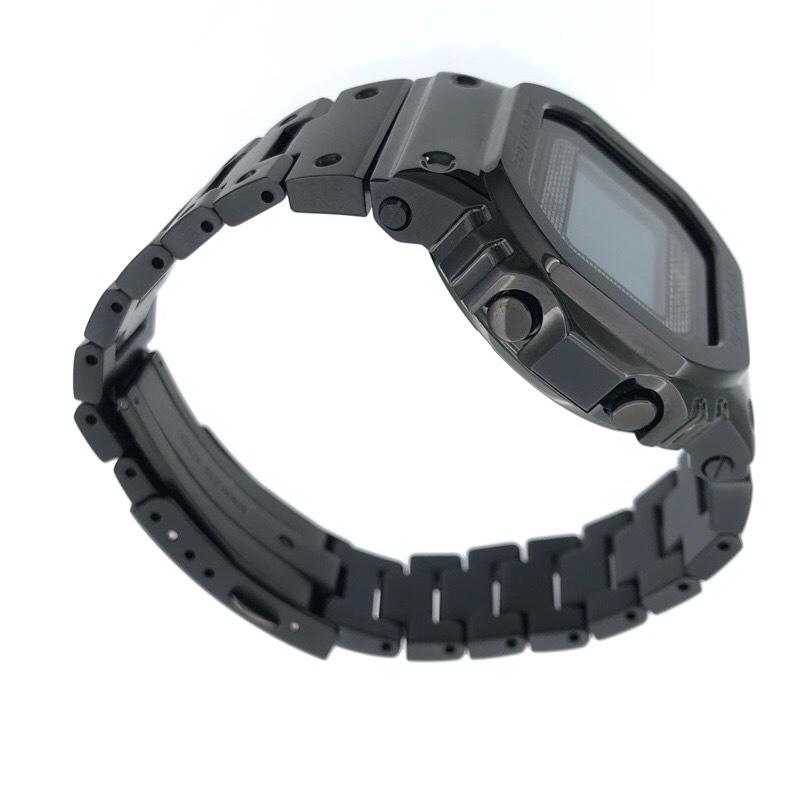 新品同様 CASIO カシオ G-SHOCK GMW-B5000GD-1JF ブラック メタル ソーラー Bluetooth 腕時計_画像3