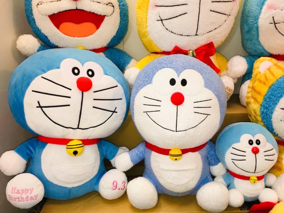 ▽ 22 ドラえもん☆ ぬいぐるみ まとめて ドラみちゃん キャラクター アニメ 大量 いっぱい マスコット 160_画像4