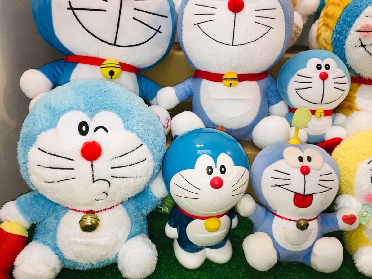 ▽ 22 ドラえもん☆ ぬいぐるみ まとめて ドラみちゃん キャラクター アニメ 大量 いっぱい マスコット 160_画像2