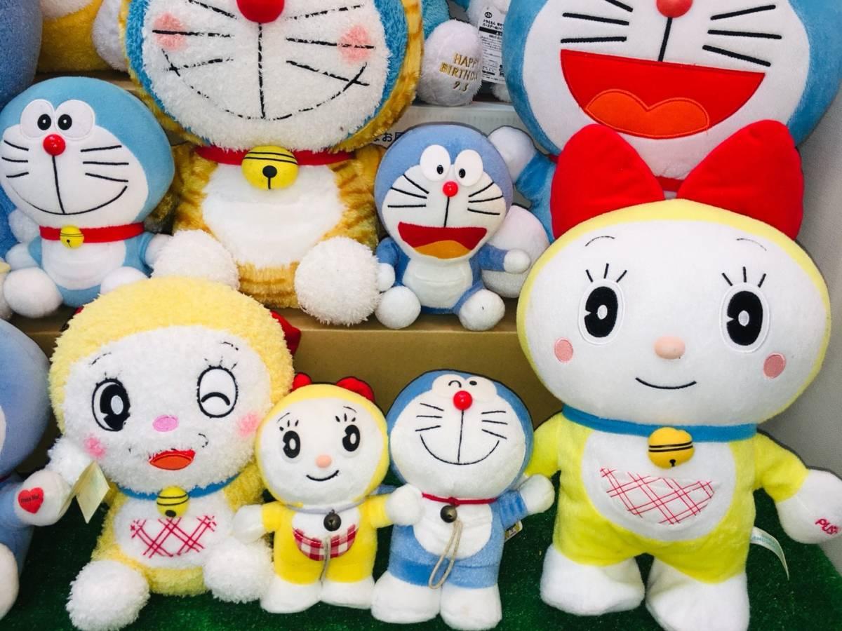 ▽ 22 ドラえもん☆ ぬいぐるみ まとめて ドラみちゃん キャラクター アニメ 大量 いっぱい マスコット 160_画像3