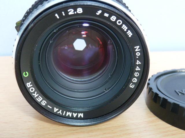 ● MAMIYA マミヤ MAMIYA-SEKOR C 80mm F2.8 中判カメラ用 _画像2