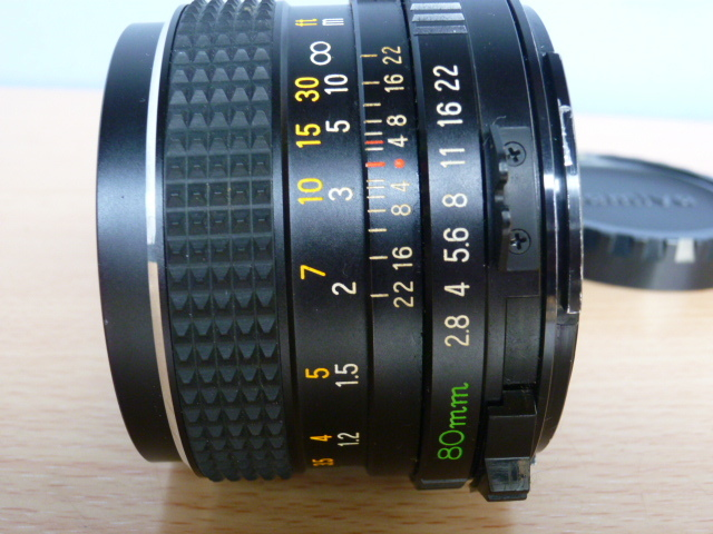 ● MAMIYA マミヤ MAMIYA-SEKOR C 80mm F2.8 中判カメラ用 _画像4