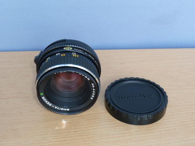 ● MAMIYA マミヤ MAMIYA-SEKOR C 80mm F2.8 中判カメラ用