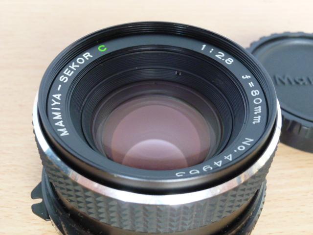 ● MAMIYA マミヤ MAMIYA-SEKOR C 80mm F2.8 中判カメラ用 _画像8