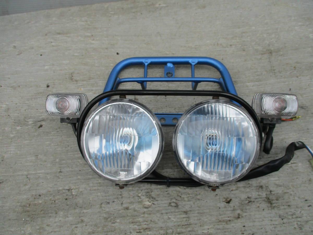 ズーマー50 AF58 キャブ車 ヘッドライト ライトステー_画像2