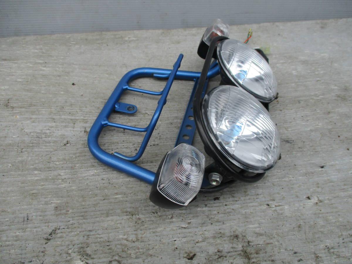 ズーマー50 AF58 キャブ車 ヘッドライト ライトステー_画像3