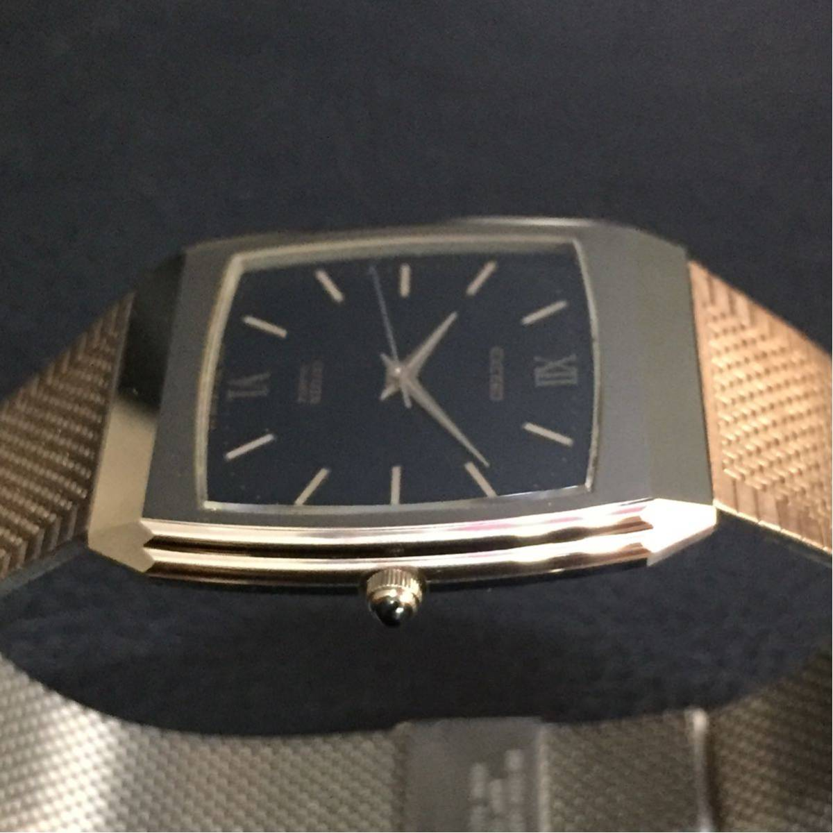 動作品【B-3】CITIZEN シチズン EXCEED エクシード 4-798392 クォーツ メンズ 腕時計_画像5