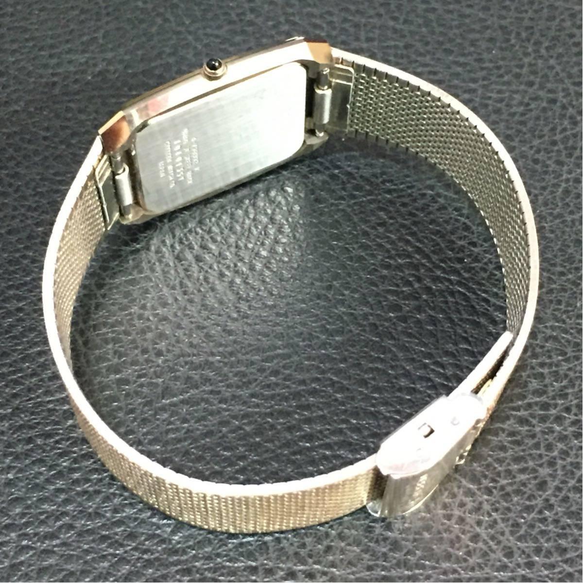 動作品【B-3】CITIZEN シチズン EXCEED エクシード 4-798392 クォーツ メンズ 腕時計_画像6